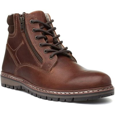 Red Tape Sawston Mens Brown Lace Up Ankle Boot
