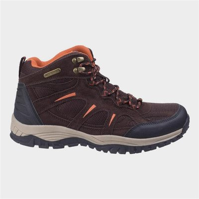 Cotswold Mens Stowell Hiking Boot in Brown