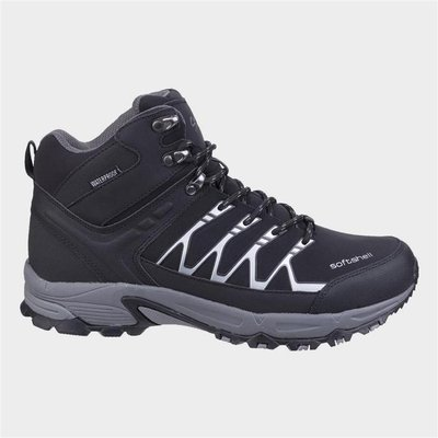 Cotswold Mens Abbeydale Mid Hiker in Black