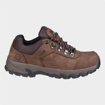 Cotswold Mens Hawling Lace Up Shoe in Brown