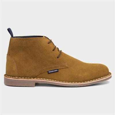 Lambretta Carnaby Tan Suede Lace Up Desert Boot