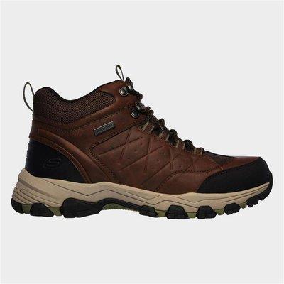 Skechers Mens Selmen Telago Hiking Boot in Brown