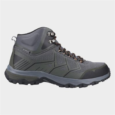 Cotswold Mens Wychwood Mid Hiking Boots in Grey