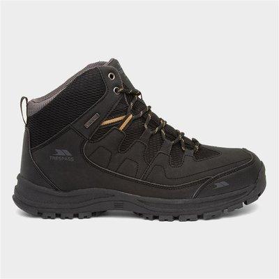 Trespass Finley Mens Black Waterproof Hiking Boot