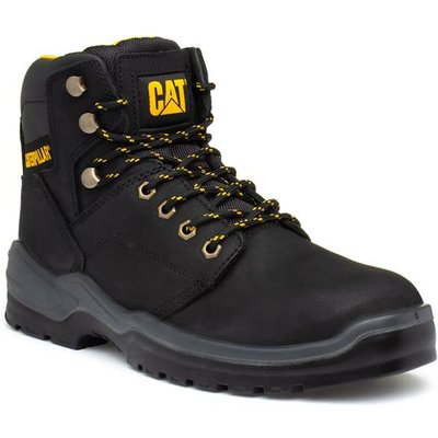 CAT Striver Mens Black Lace Up Safety Boot