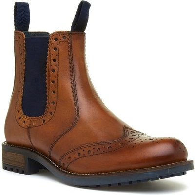 Catesby Mens Tan Chelsea Boot
