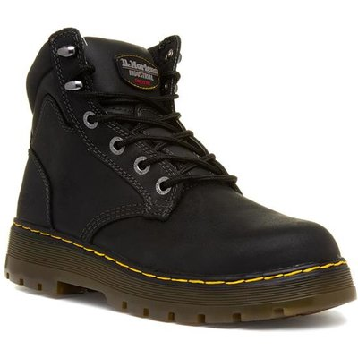 Dr.Martens Brace Mens Black Lace Up Safety Boot