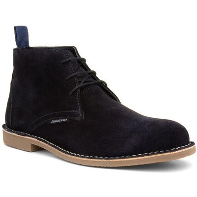 Lambretta Carnaby III Navy Lace Up Boot