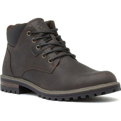 Sprox Mens Dark Brown Lace Up Ankle Boot