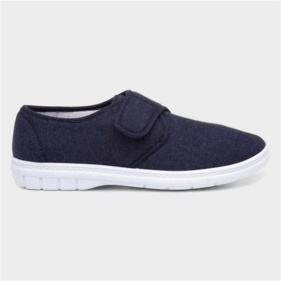 Hobos Mens Canvas Shoe in Blue