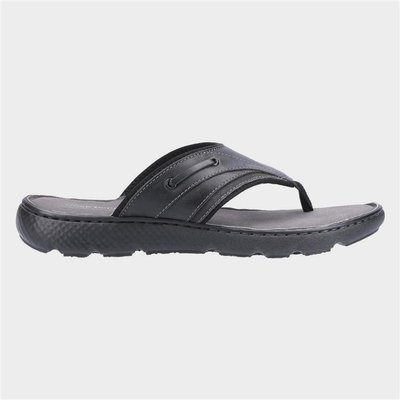Hush Puppies Connor Flip Flop in Black