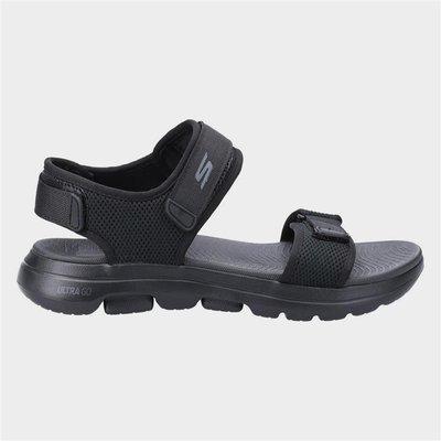Skechers Mens Go Walk 5 Cabourg Sandal in Black