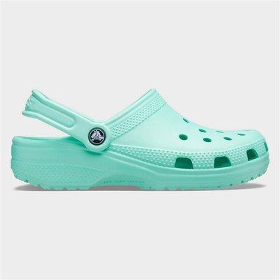 Crocs Womens Classic Clog in Green