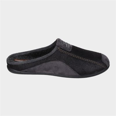 Cotswold Mens Westwell Slipper in Black