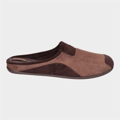 Cotswold Mens Westwell Slipper in Brown