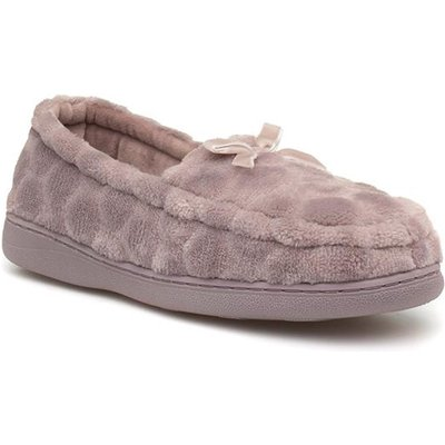 The Slipper Company Womens Beige Mink Moccasin