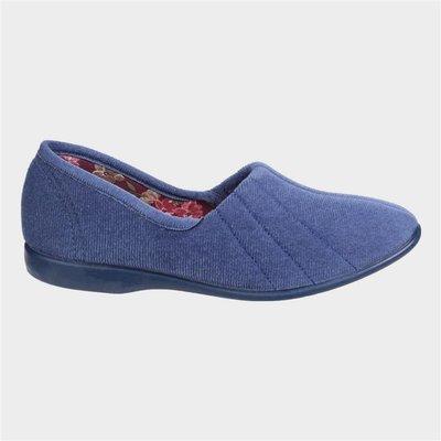 GBS Womens Audrey Slipper in Blue