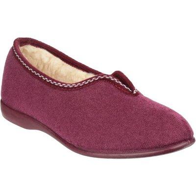 GBS Womens Helsinki Classic Slippers in Purple