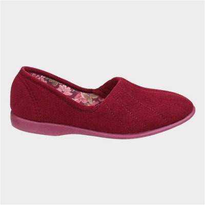 GBS Womens Audrey Slipper in Red