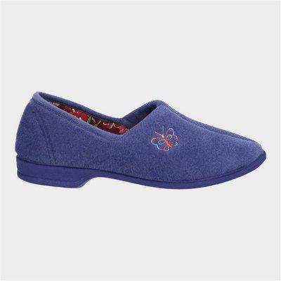 Mirak Womens Bouquet Slipper in Blue