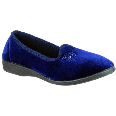 Mirak Womens Simone Slipper in Blue
