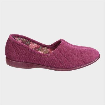 GBS Womens Audrey Slipper in Purple