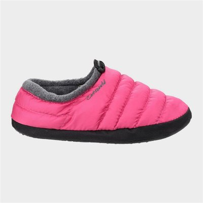 Cotswold Womens Camping Slipper Ladies in Pink
