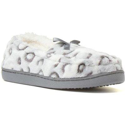 The Slipper Company Womens Slipper in Grey