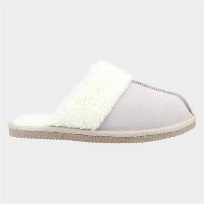 Hush Puppies Arianna Womens Cream Slippers