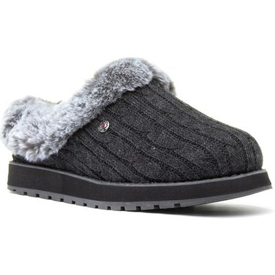 Skechers Keepsakes Ice Angel Womens Grey Slipper
