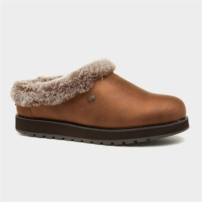 Skechers Keepsakes Rem Womens Brown Mule Slipper