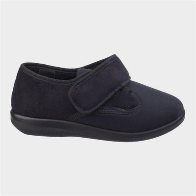 GBS Unisex Frenchay Classic Slippers in Black