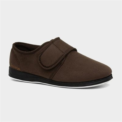 Padders Charles Mens Brown Full Slipper