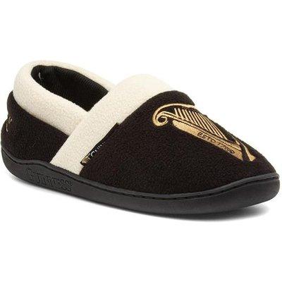 Guinness Haylan Mens Black Full Slipper