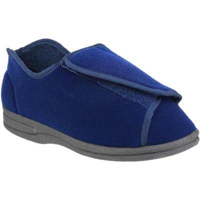 Mirak Womens Fife Touch Fastening Slipper in Blue
