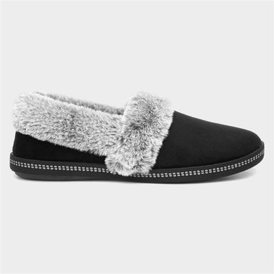 Skechers Cozy Campfire Toasty Womens Black Slipper