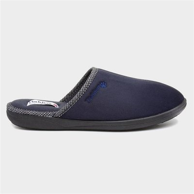 Padders Luke Mens Mule Slipper in Navy