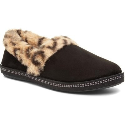 Skechers Cozy Campfire Womens Leopard Slipper