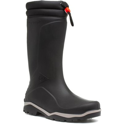 Dunlop Mens Black Warm Lined Wellington Boot