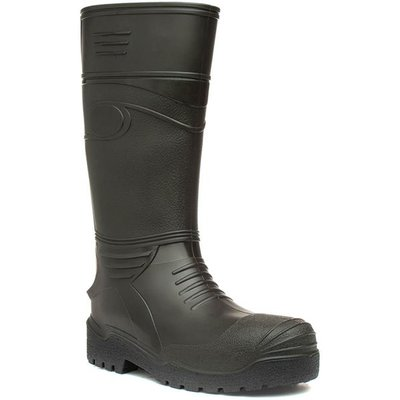 Mens Green Wellington Boot
