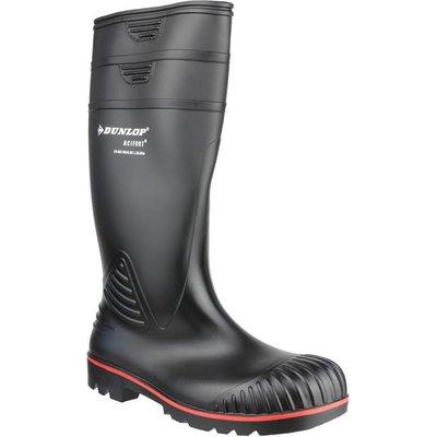 Dunlop Acifort Mens Black Safety Wellington Boot