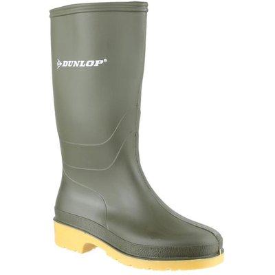Dunlop Dulls Adults Wellington Boot in Green