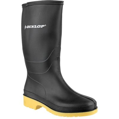 Dunlop Dulls Mens Wellington Boot in Black