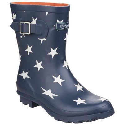 Cotswold Badminton Womens Navy Wellington Boot