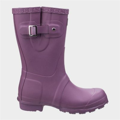 Cotswold Womens Windsor Short Wellington in Purple