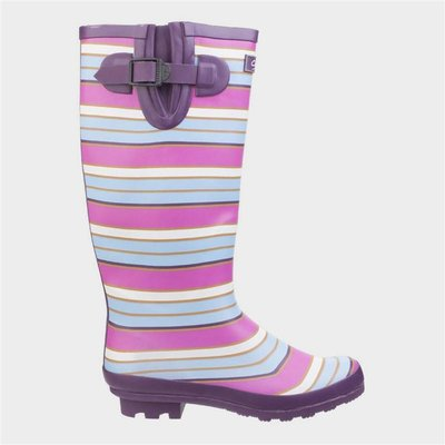 Cotswold Womens Wadeberry Wellington in Pink