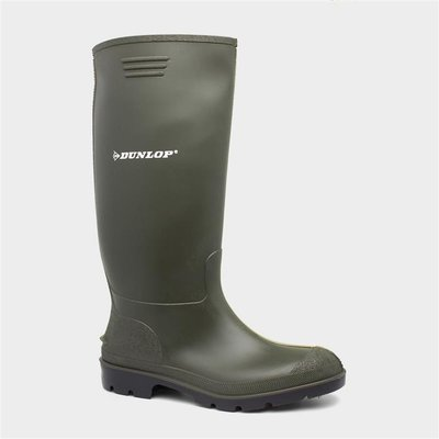 Dunlop Pricemastor Unisex Green Wellington Boots
