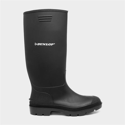 Dunlop Pricemastor Unisex Black Wellington Boot