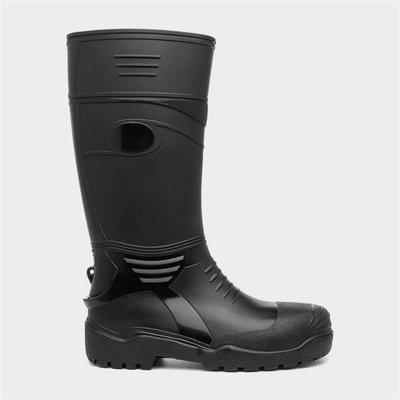 Adults Black Wellington Boot