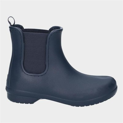 Crocs Freesail Womens Navy Ankle Wellington Boot